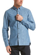 Haskell Long Sleeve Denim Shirt