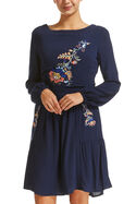 Halle Embroidery Dress