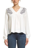 Leonie Embroidered Blouse