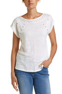Francine Embroidered Tee
