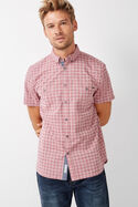 Lez Short Sleeve Check Shirt
