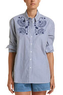 Jade Embroidered Shirt