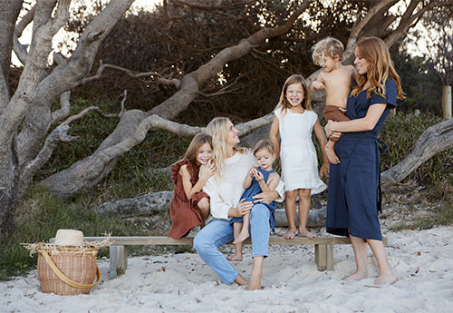 Moments in Motherhood with the Beach People
